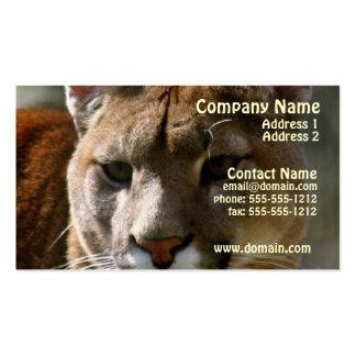 Puma Cat Business Card