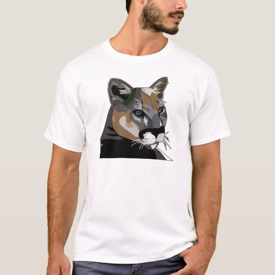 Puma,Mountain Lion,Cougar T-Shirt