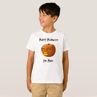 Pumkin Angry: Happy Halloween - You Hope T-Shirt