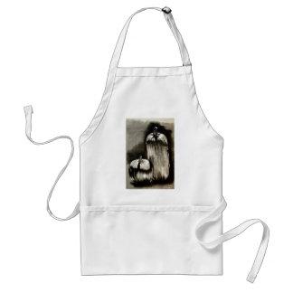 pumkin adult apron