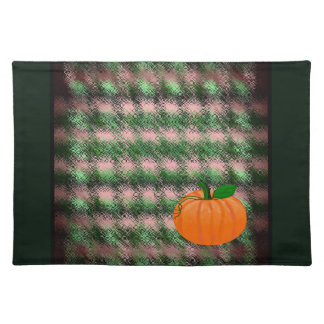 Pumkin Country Plaid Placemate-Green and Pink 2 Place Mats