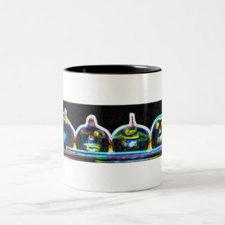 Pumkin glow coffee mugs
