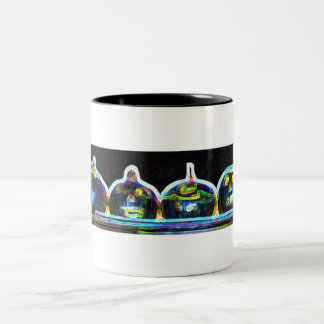 Pumkin glow Two-Tone mug