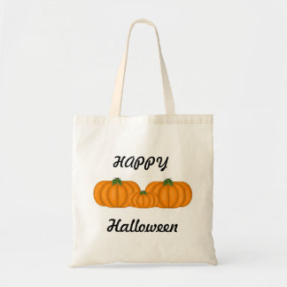 Pumkin Halloween tote bag