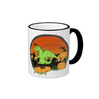 Pumkin light coffee mug