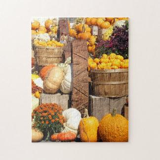 Pumkin Patch Large Jigsaw Puzzle