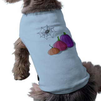 Pumkin Sleeveless Dog Shirt
