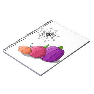 Pumkin Spiral Notebooks