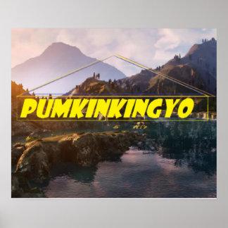 Pumkinkingyo premium edition poster 20x20