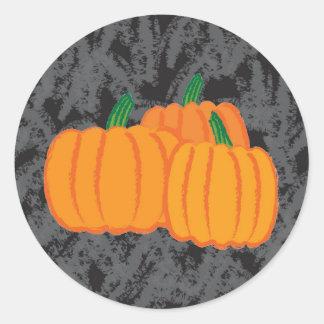 Pumkins Classic Round Sticker