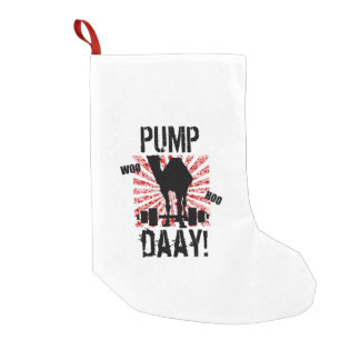 Pump Day Camel Christmas Stocking