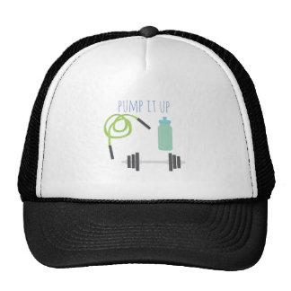 Pump it up trucker hat