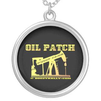 Pump Jack Necklace,Oil,Patch,Black Gold,Rigs