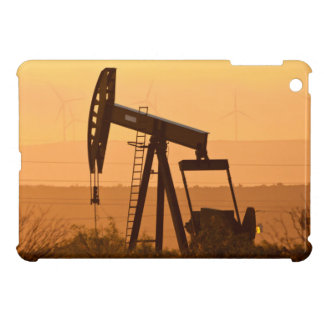 Pump Jack Pumping Oil In West Texas, USA Case For The iPad Mini