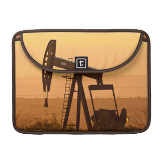 Pump Jack Pumping Oil In West Texas, USA Sleeves For MacBook Pro