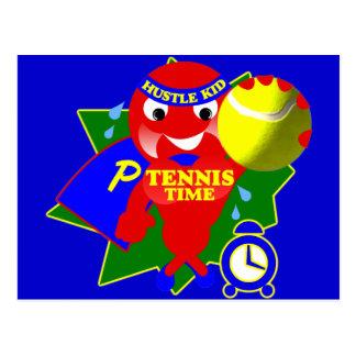 Pump Time Tennis Time Postcard