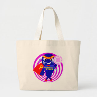 Pump Time Volleyball Time Canvas Bag