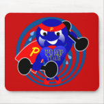 Pump Time Weightlifter Mouse Pad