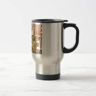 Pump Up Blue Cheese Stainless Steel Travel Mug