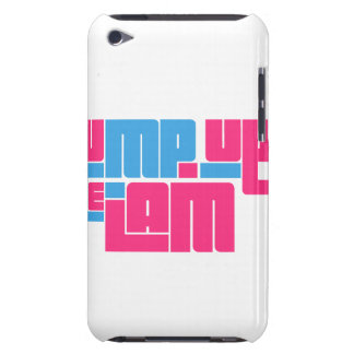 pump up jam-blue png barely there iPod case