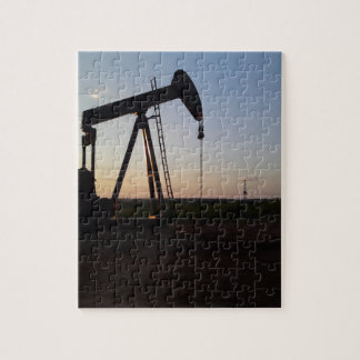 Pumping Unit in West Texas Jigsaw Puzzle