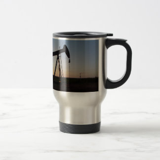Pumping Unit in West Texas Stainless Steel Travel Mug
