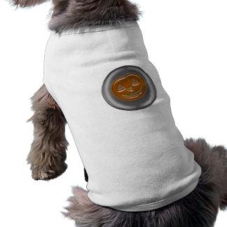 Pumpkin 3D Halloween Cartoon Sleeveless Dog Shirt