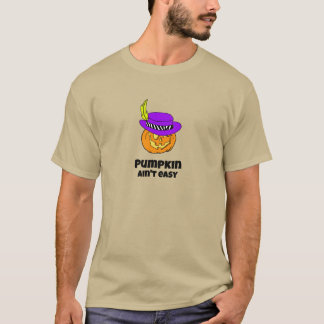 Pumpkin Ain't Easy Pimp Jack-o-lantern T-Shirt