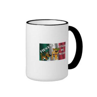Pumpkin and Boots Ringer Mug