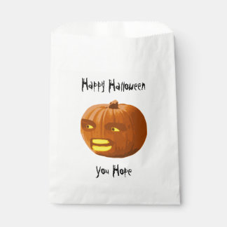 Pumpkin Angry: Happy Halloween - You Hope Favour Bags