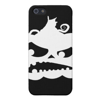 Pumpkin Angry iPhone 5/5S Case