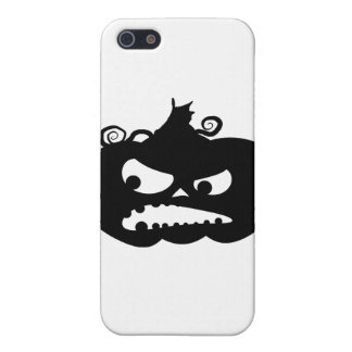 Pumpkin Angry iPhone 5 Covers