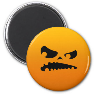 Pumpkin Angry Magnet