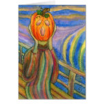 Pumpkin Angst Greeting Cards