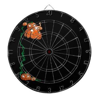 Pumpkin Art Dartboard With Darts