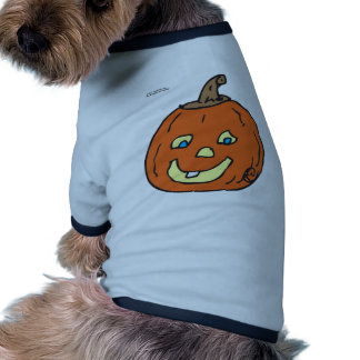 pumpkin baby dog t shirt