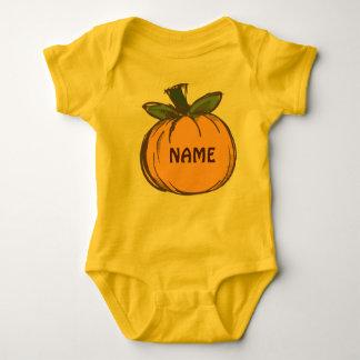 Pumpkin Baby Jersey Bodysuit