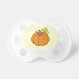 Pumpkin Baby Pacifier