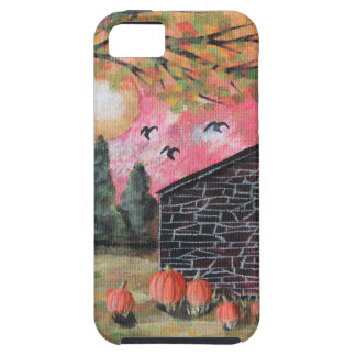 Pumpkin Barn iPhone 5 Cover
