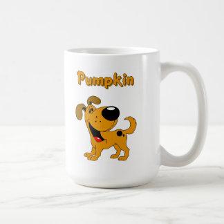 Pumpkin Basic White Mug
