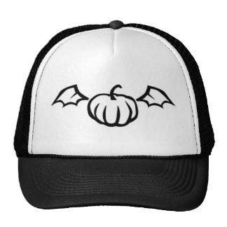 Pumpkin Bat Trucker Hat