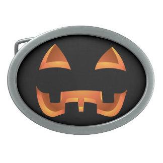 Pumpkin Belt Buckle Halloween Jack-o-lantern Gift