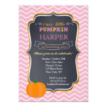 Pumpkin Birthday Party Invitations