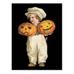 Pumpkin Boy Postcards