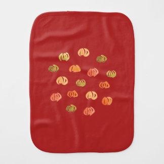 Pumpkin Burp Cloth