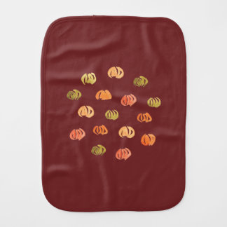 Pumpkin Burp Cloth