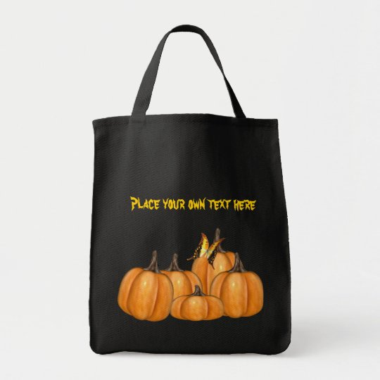 Pumpkin butterfly Bag