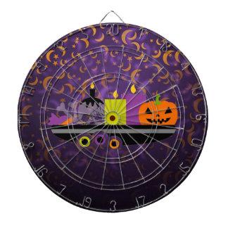 Pumpkin & Candles Potpourri Purple Dartboard