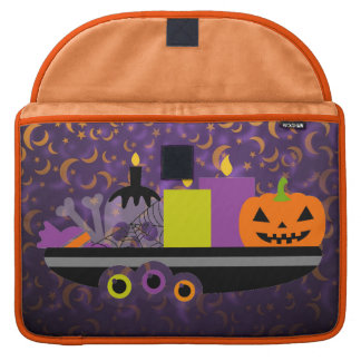 Pumpkin & Candles Potpourri Purple Sleeve For MacBooks