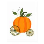 Pumpkin Carriage Post Card